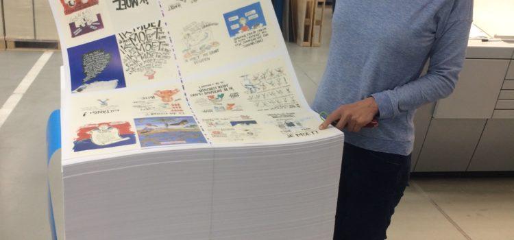 Het boek ligt op de pers!